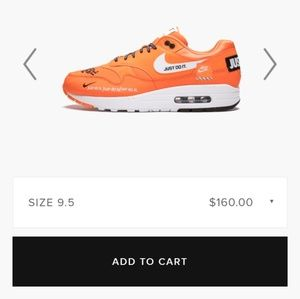 Nike Shoes - These are  Nike air max Jdi all orange color way.